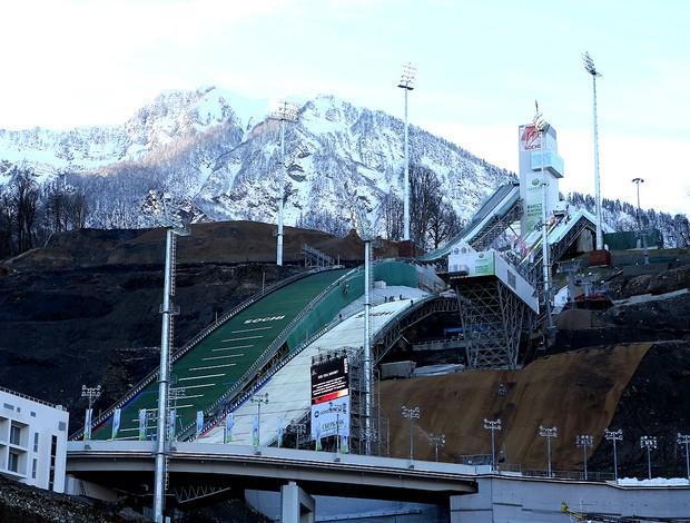 estação de esqui em Sochi Olimpíadas de Inverno (Foto: Getty Images)