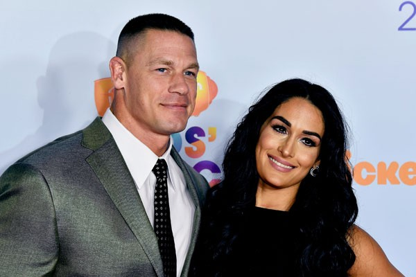 John Cena e Nikki Bella (Foto: Getty Images)