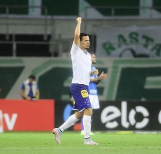 Palmeiras x Cruzeiro Leandro Damião (Foto: Marcos Ribolli)