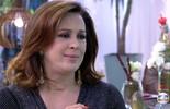 Ana Maria Braga recebe Claudia Raia na Casa de Cristal