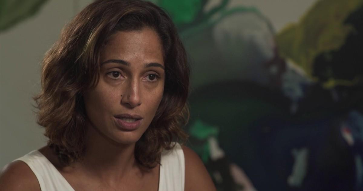 Camila Pitanga fala sobre morte de Domingos Montagner em entrevista