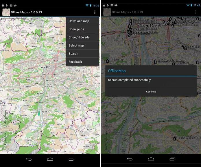 Offline Maps é um mapa que funciona sem Internet (Foto: Divulgação)