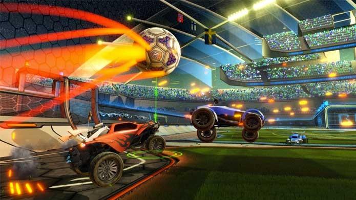 Rocket League mistura futebol e carros (Foto: Divulgação/Psyonix)