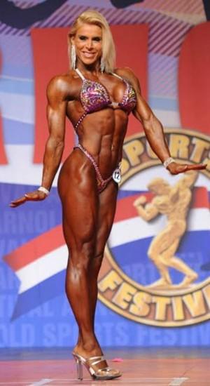 Regiane Silva, bodybuilding, Arnold Classic (Foto: Divulgação)
