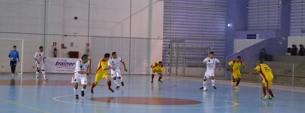 Mogi das Cruzes São Bernardo Copa Federação (Foto: Thiago Fidelix)