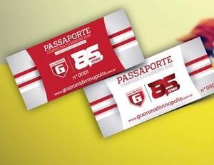 Modelos de passaportes divulgados pelo Bugre (Foto: Guarani-MG/Divulgação)