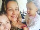 Luana Piovani posa com a mãe e a filha: 'Amor infinito'