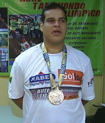 Philip Izidório, lutador de taekwondo do Acre (Foto: Reprodução/Rede Amazônica Acre)