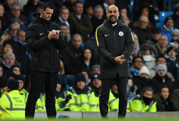 Guardiola técnico Manchester City (Foto: Getty Images)