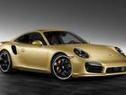 Porsche mostra versão dourada do 911 Turbo