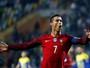 """Após marcar quatro gols, Cristiano Ronaldo diz: """"Sinto-me um jogador útil"""""""