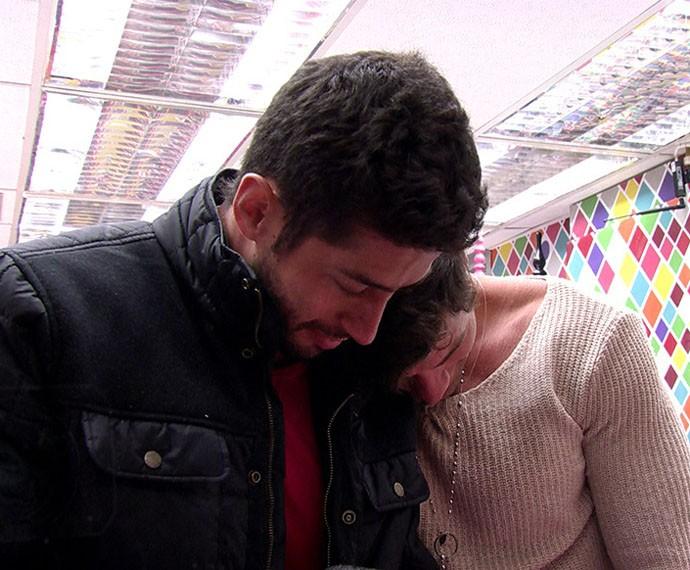 Roni e Marcelo eram muito próximos durante o confinamento do BBB (Foto: TV Globo)