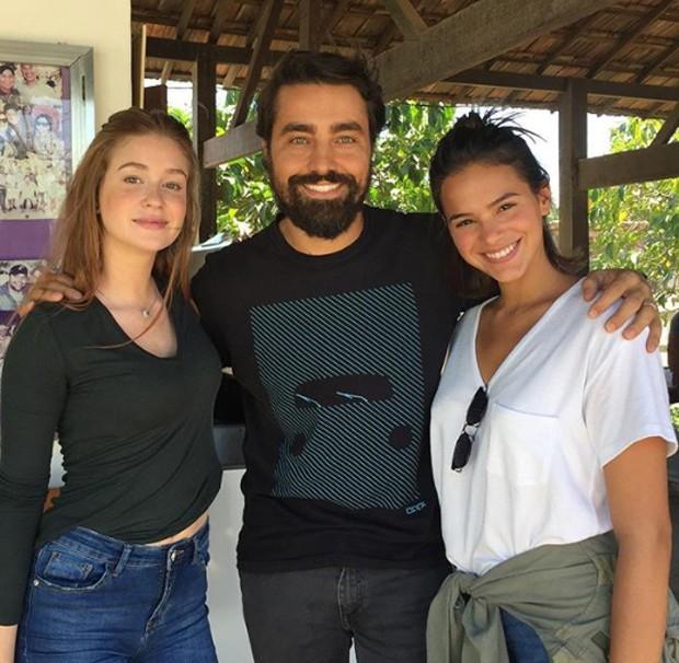 Marina Ruy barbosa, Ricardo Pereira e Bruna Marquezine (Foto: Reprodução / Instagram)
