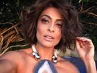 Juliana Paes fala sobre cabelos brancos: 'Retoco a raiz regularmente'