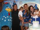 Mariana Belém faz festa para comemorar um ano da filha, Laura