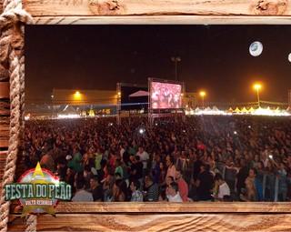 Festa do Peão 2014 (Foto: Reprodução: Tv Rio Sul)