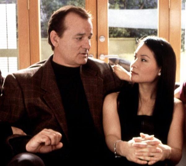 Bill Murray e Lucy Liu em 'As Panteras' (2000) (Foto: Divulgação)