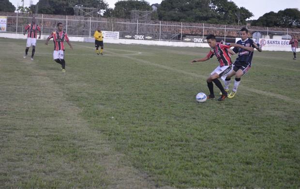Ypiranga consegue segunda vitória no Amapazão sob o São Paulo (Foto: Cassio Albuquerque/GE-AP)