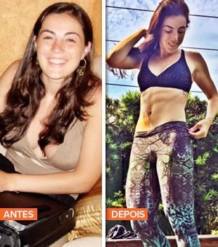 EuAtleta Giulia mamae fitness antes depois_310 (Foto: Eu Atleta)