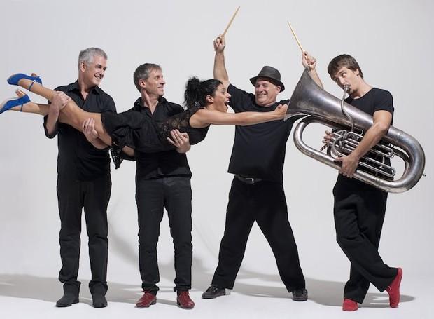 Musical reúne jazz, chorinho, funk, sapateado, samba e percussão  (Foto: Divulgação)