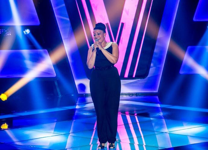 Selma Fernands dá show na Audição do The Voice Brasil (Foto: Isabella Pinheiro/Gshow)