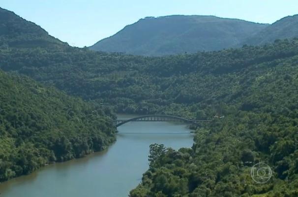 Paisagens da serra gaúcha (Foto: Reprodução/RBS TV)