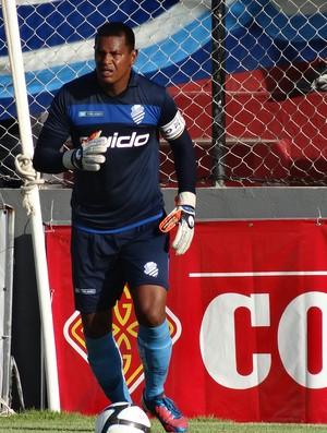 Flávio, goleiro do CSA (Foto: Paulo Victor Malta / GLOBOESPORTE.COM)