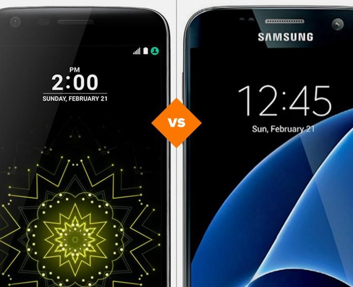 LG G5 SE ou Galaxy S7: comparativo coloca tops lado a lado (Foto: Arte/TechTudo)