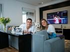Casal do vôlei Dani Lins e Sidão  abre seu apartamento em São Paulo