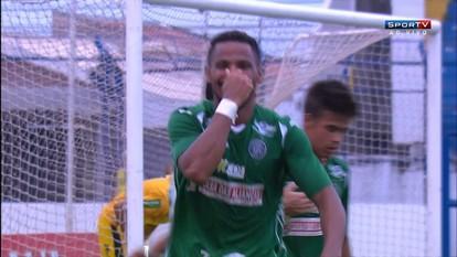 Os gols de Marília 1 x 3 Guarani pelo Campeonato Paulista Série A2