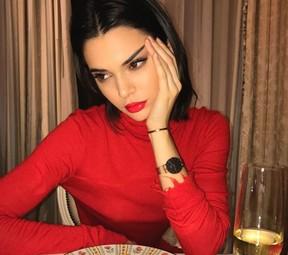 Kendall Jenner tem joias furtadas em sua casa, nos EUA (Foto: Reprodução/Instagram)