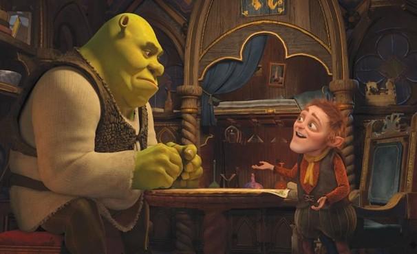 Shrek faz um pacto para ter uma vida diferente (Foto: Divulgação / Reprodução)