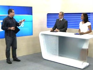 Madson, Gilvan e Liara no comando do BDA (Foto: Reprodução/ TV Gazeta)
