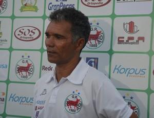 Betão, treinador do Serrano-PB (Foto: Cisco Nobre / GloboEsporte.com/pb)