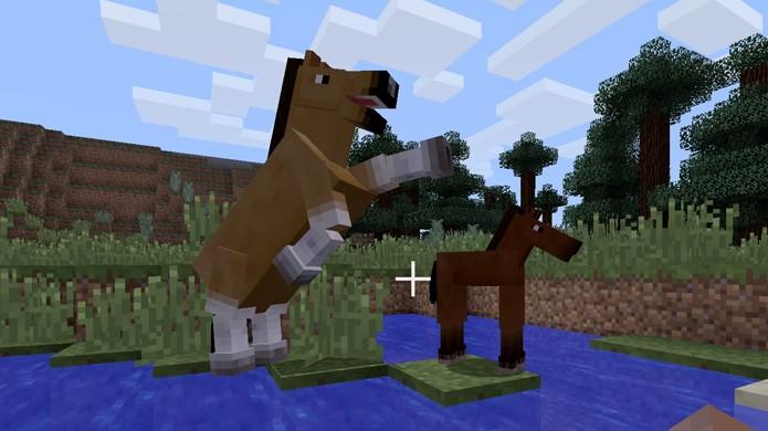 como reproduzir cavalos em minecraft dicas e tutoriais techtudo