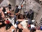Morre homem que ficou soterrado em buraco de 11 metros em SP