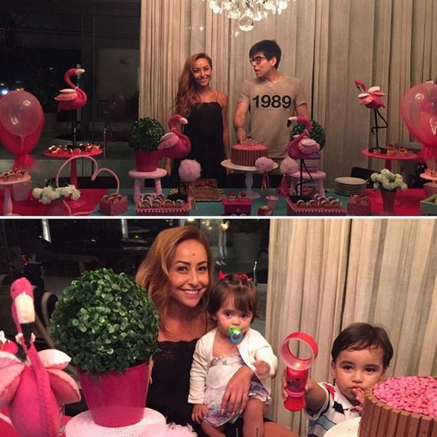 Sabrina Sato ganha festa surpresa de aniversário