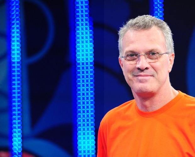 Pedro Bial no BBB 11 (Foto: Divulgação/TV Globo)