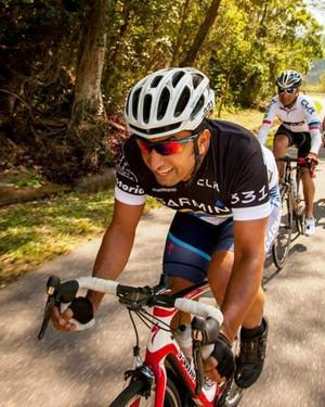"""Claudio Clarindo disputa """"Copa do Mundo"""" de ciclismo na Flórida, nos EUA (Foto: Divulgação / FMA Notícias / Leo Cavallini)"""