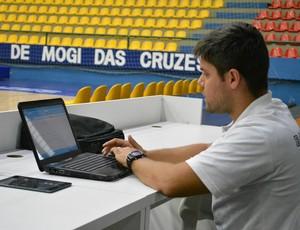 Eric Ruiz preparador físico Mogi (Foto: Bruno Rocha)