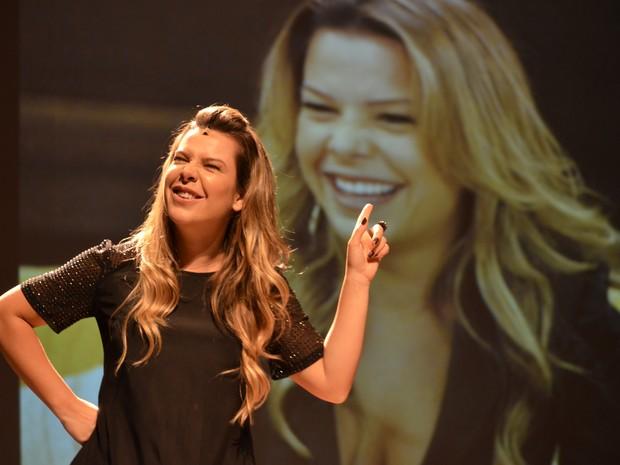 Fernanda Souza apresenta peça sobre sua trajetória na dramaturgia  (Foto: Saulo Marqks/Divulgação)