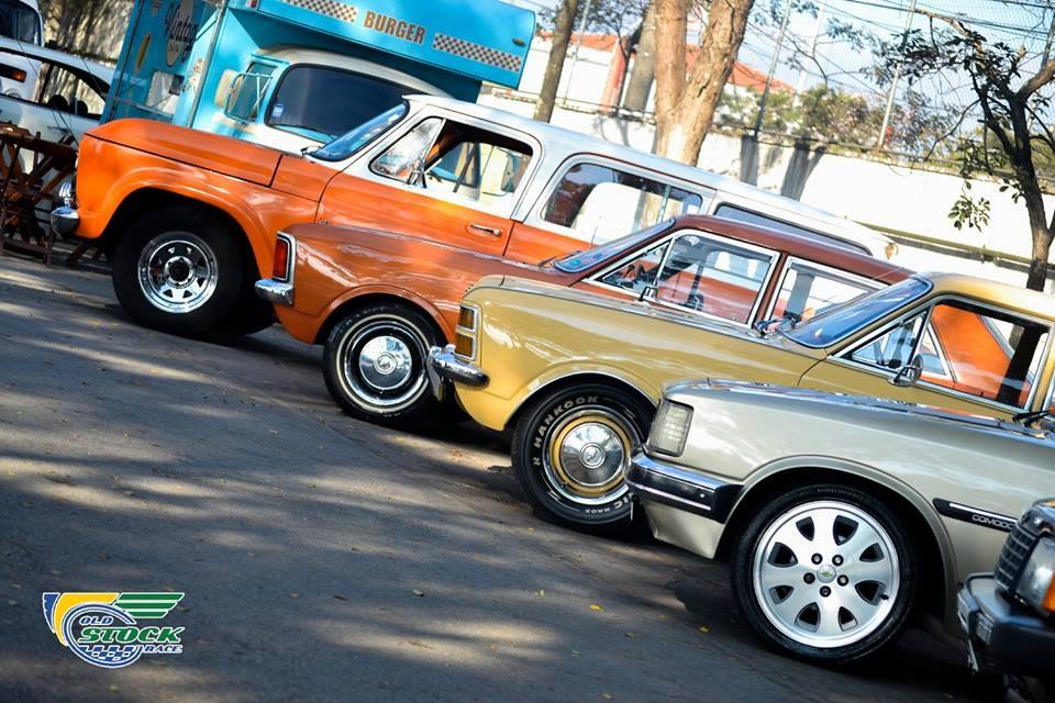 Os GM em exposição (Foto: Barbara Bonfin/OSR)