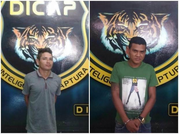 Anderson Borges de Castro e Humberto Lopes de Souza são condenados por roubo e furto (Foto: Divulgação/ Dicap)