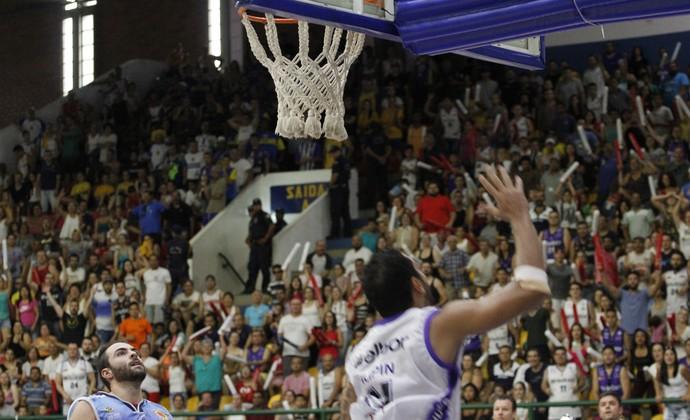 Mogi das Cruzes x São José Campeonato Paulista de Basquete (Foto: Nicholas Modesto)