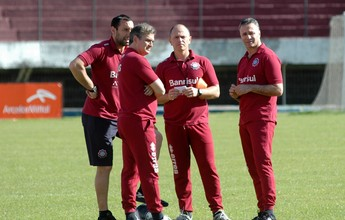 Técnico Beto Campos deixa o cargo, e Caxias acerta com Luís Carlos Winck