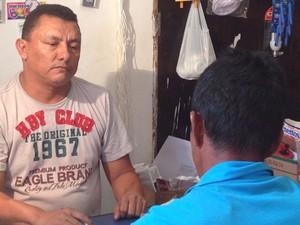 Comerciante empresta dinheiro sob penhora de cartão do Bolsa Família (Foto: Clarissa Carramilo/G1)