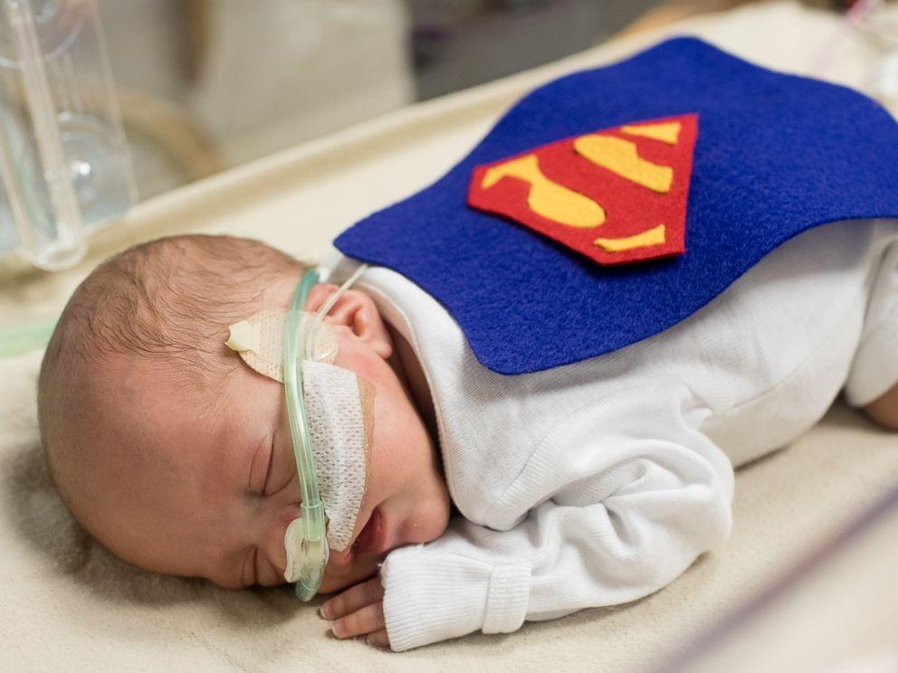 Super bebê (Foto: Reprodução)
