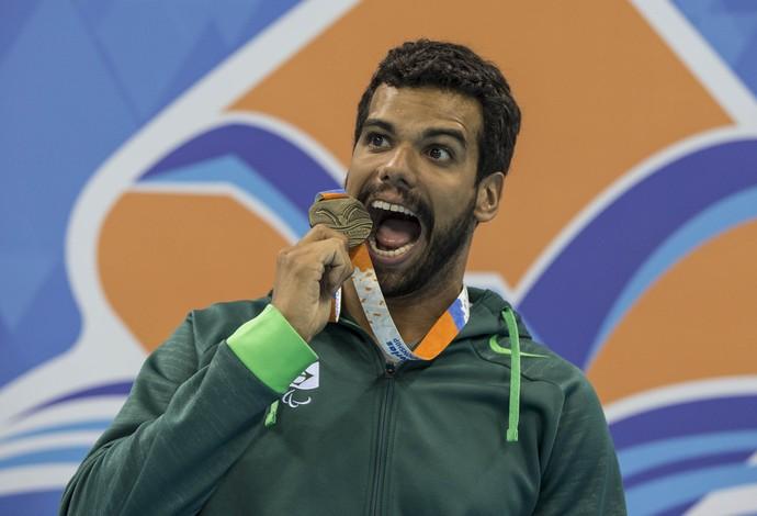 Andre Brasil evento-teste natação paralímpica (Foto: Daniel Zappe/MPIX/CPB)