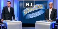 Rio de Janeiro - debate (Foto: Arte/G1)