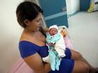 Cahill é o primeiro bebê de 2016 nascido na Santa Casa, em Belém